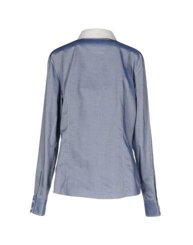 BLUE LES COPAINS Camisas y blusas lisas