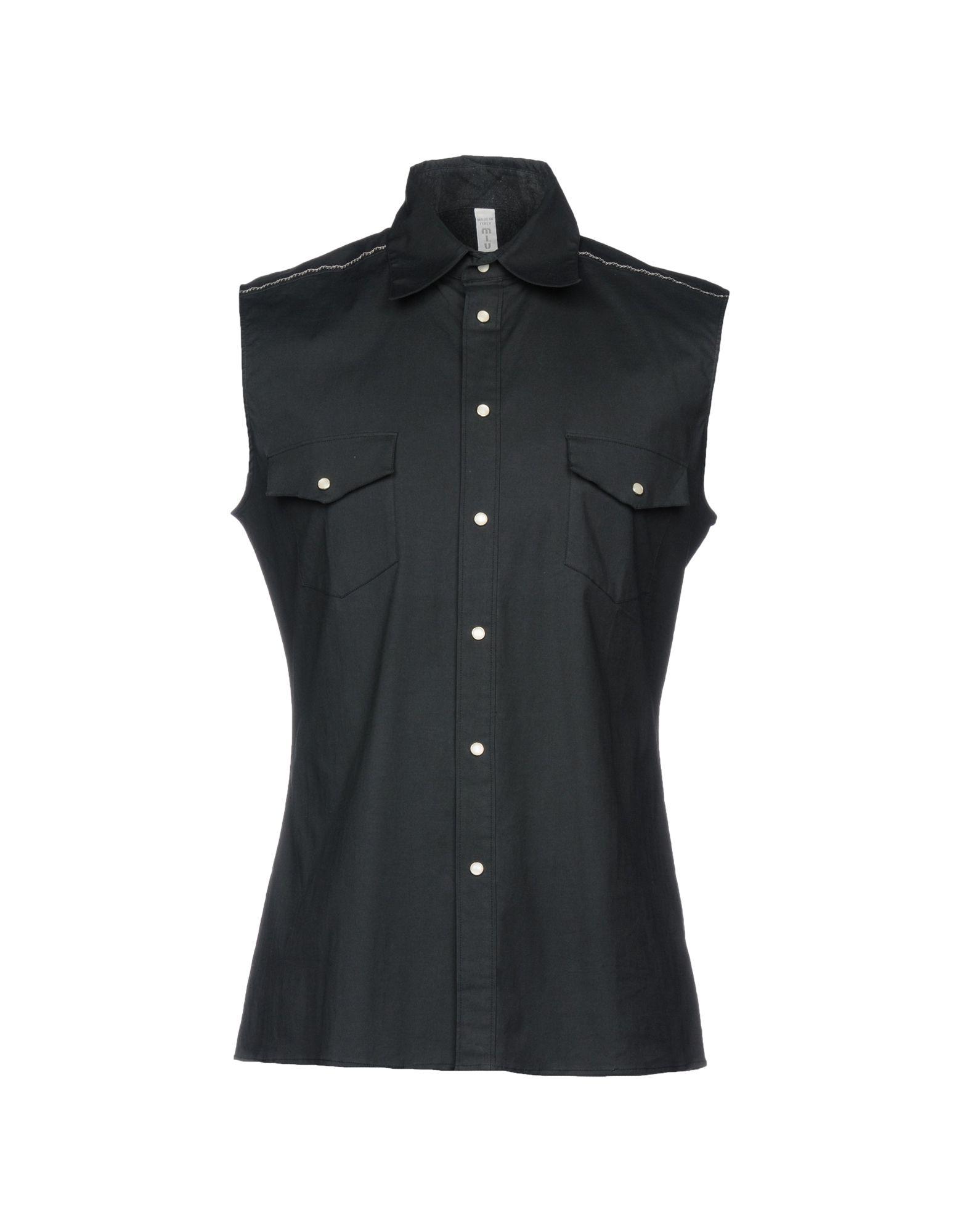 Camicia Tinta Unita Miu Miu Uomo - Acquista online su