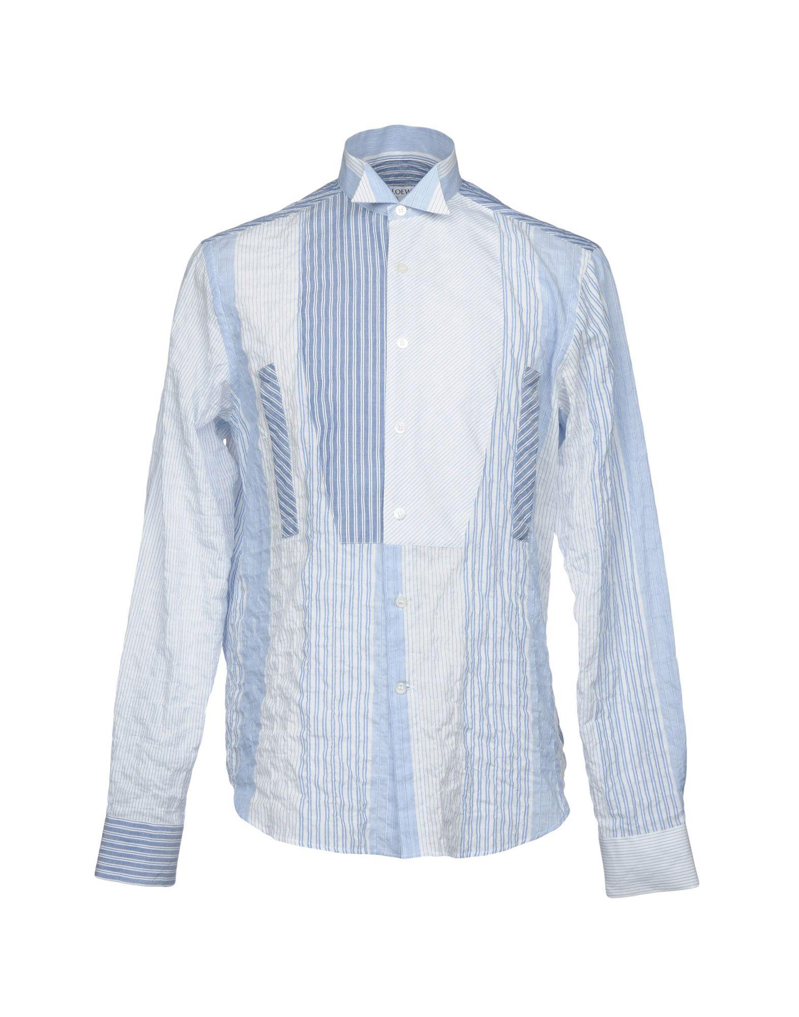 Camicia A Righe Loewe Uomo - Acquista online su