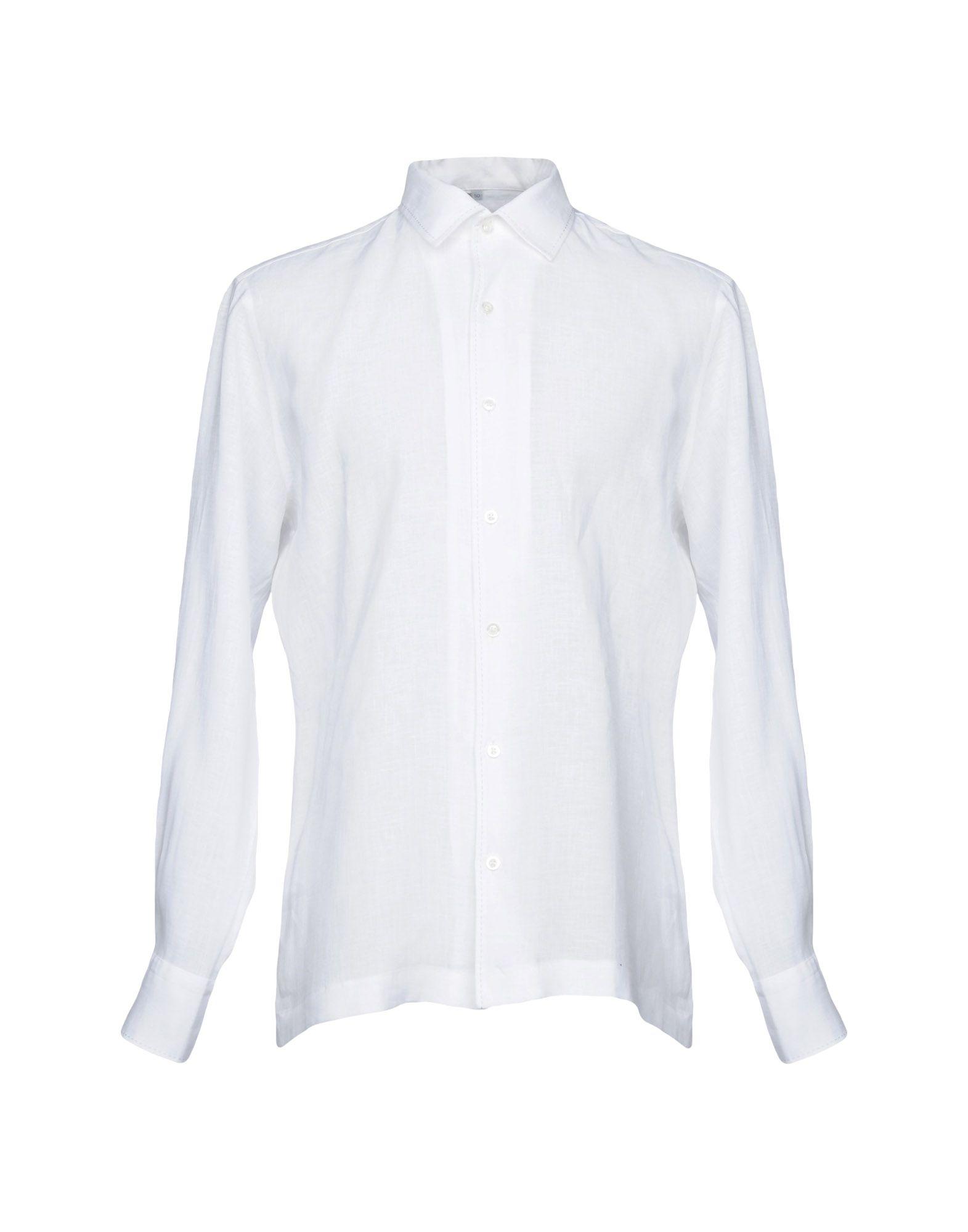 Camicia In Lino Cortigiani Uomo - Acquista online su