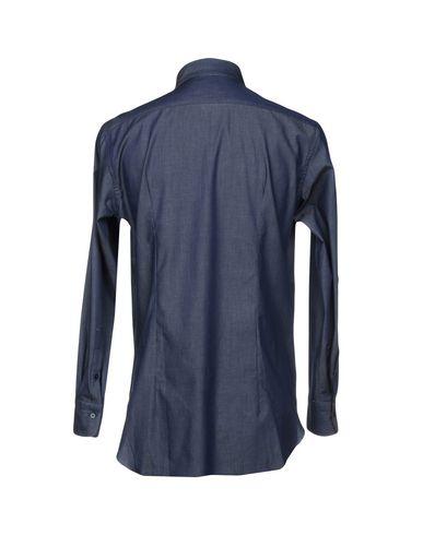 Jw Sax Milano Camisa Vaquera billig stor rabatt billig pris uttak billig fabrikkutsalg YSRQOLr