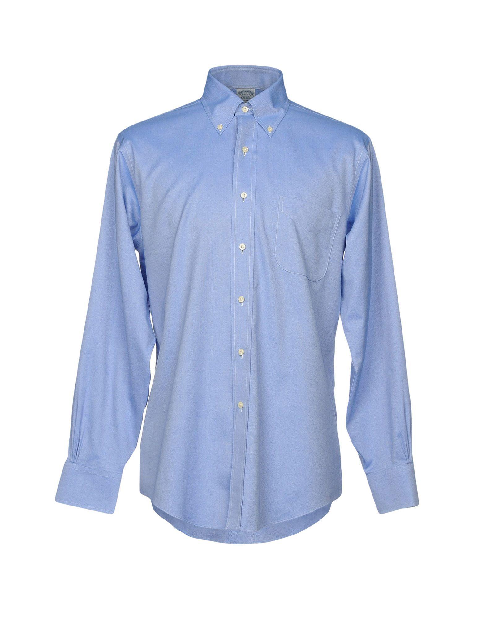 Camicia Tinta Unita Unita Tinta Brooks Brothers Uomo - 38720335OX a21c10