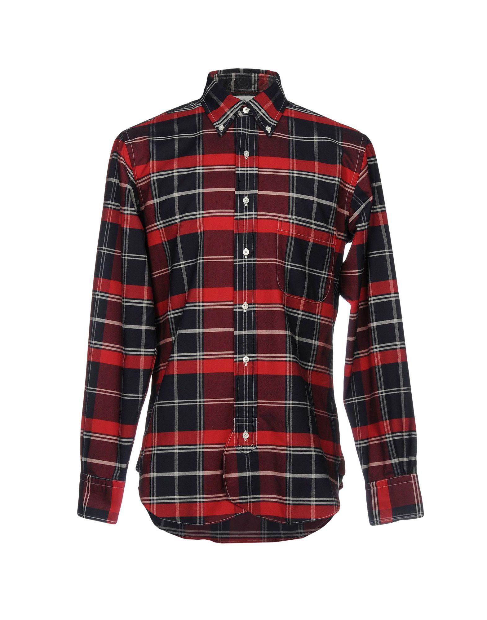Camicia A Quadri Black Fleece By Brooks Brothers Uomo - Acquista online su