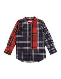 BURBERRY CHILDREN - Checked shirt