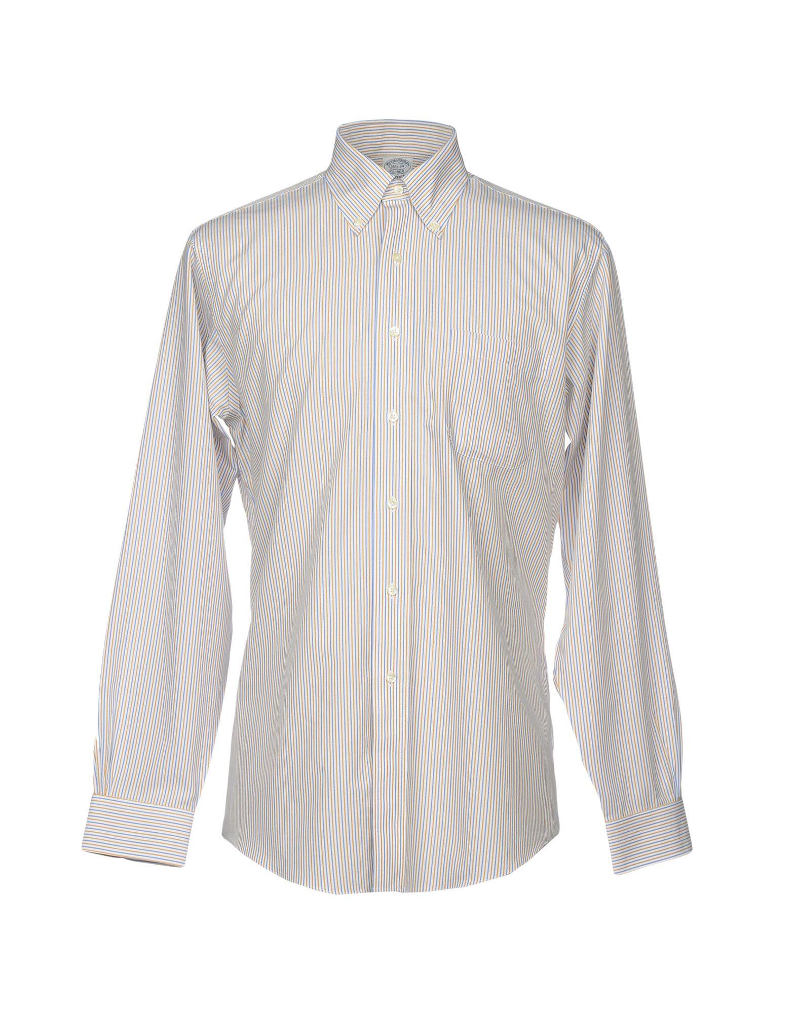 Camicia A Righe Brooks Brothers herren - 38720658PI
