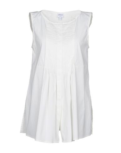 Armani Collezioni Skjorter Og Bluser Glatte billig salg rabatt salg komfortabel bestselger billige online 0juD2J
