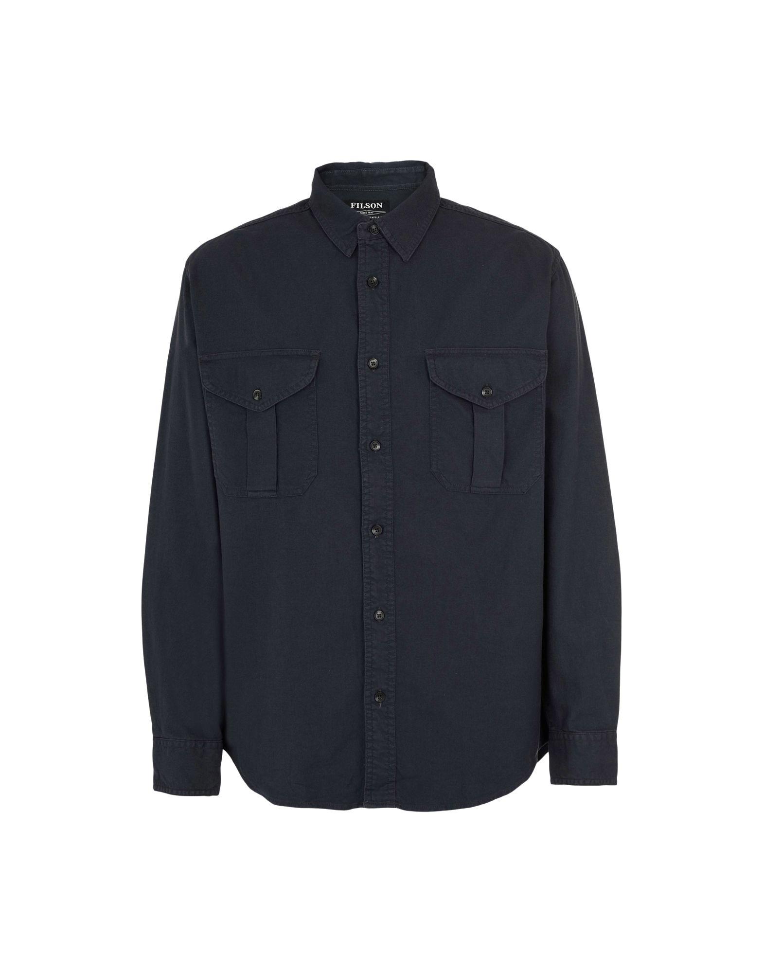 Camicia Tinta Unita Filson Lt Wt Alaskan Guide Shirt / Lt Wt Alaskan Guide Shirt - Uomo - Acquista online su