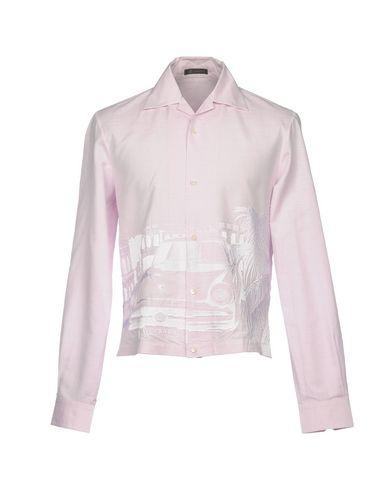 rabatt tumblr rabatt ekte Versace Camisa Lisa bestille billig pris stikkontakt lav pris aSUP8l