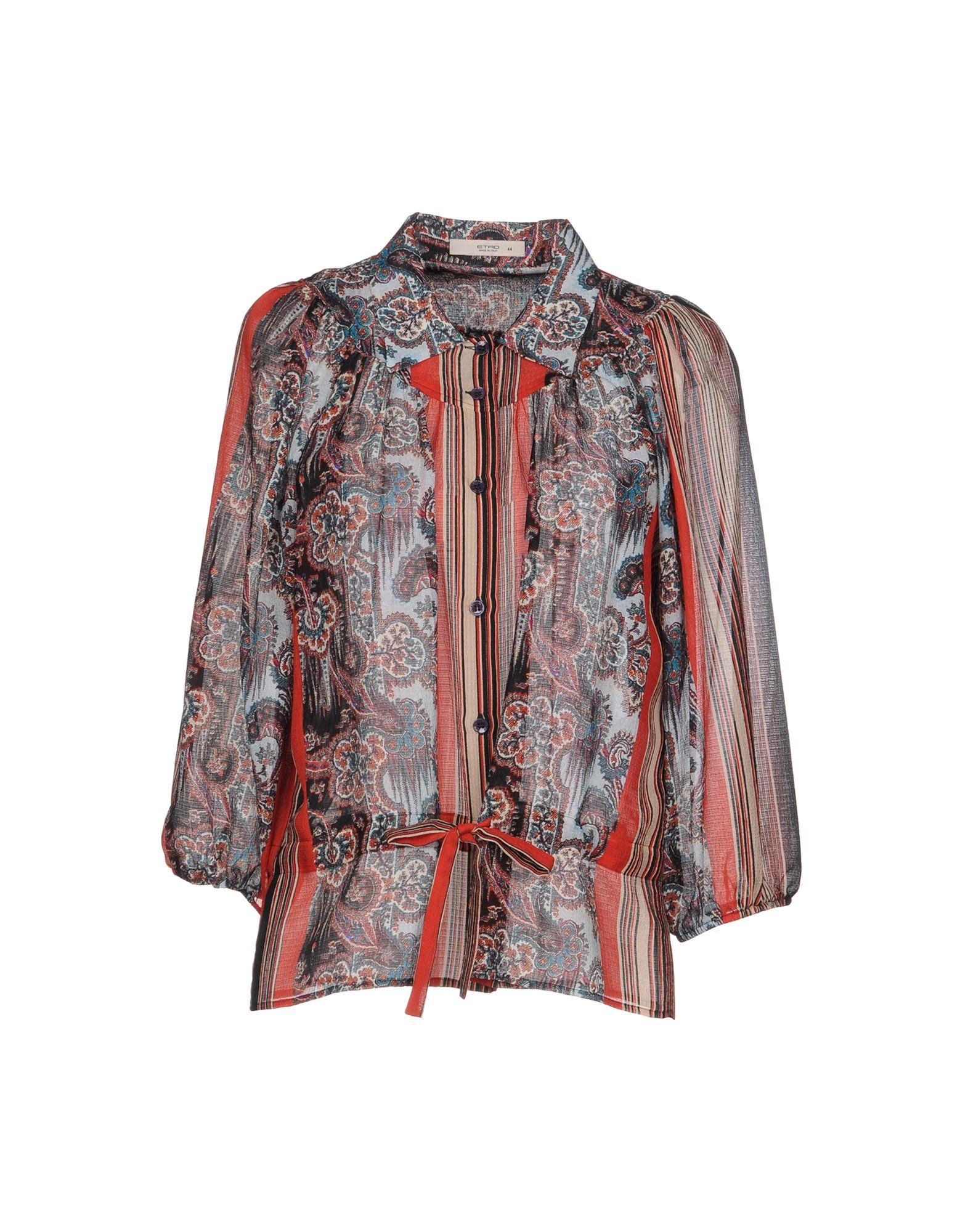 Camicie E Bluse In Seta Etro Donna - Acquista online su 2XjuzD56wd