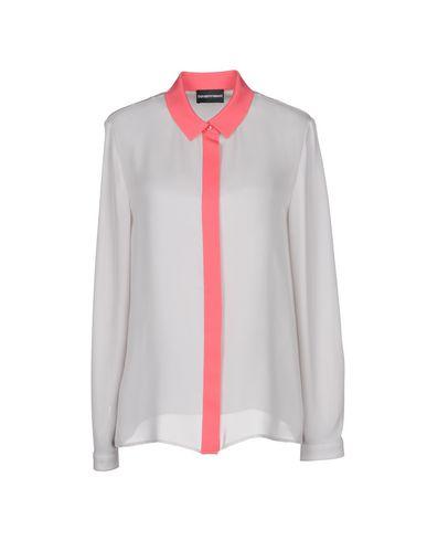 Emporio Armani Silke Skjorter Og Bluser gratis frakt eksklusive mållinjen nyte for salg salg besøk lav frakt online 89hiMqF4