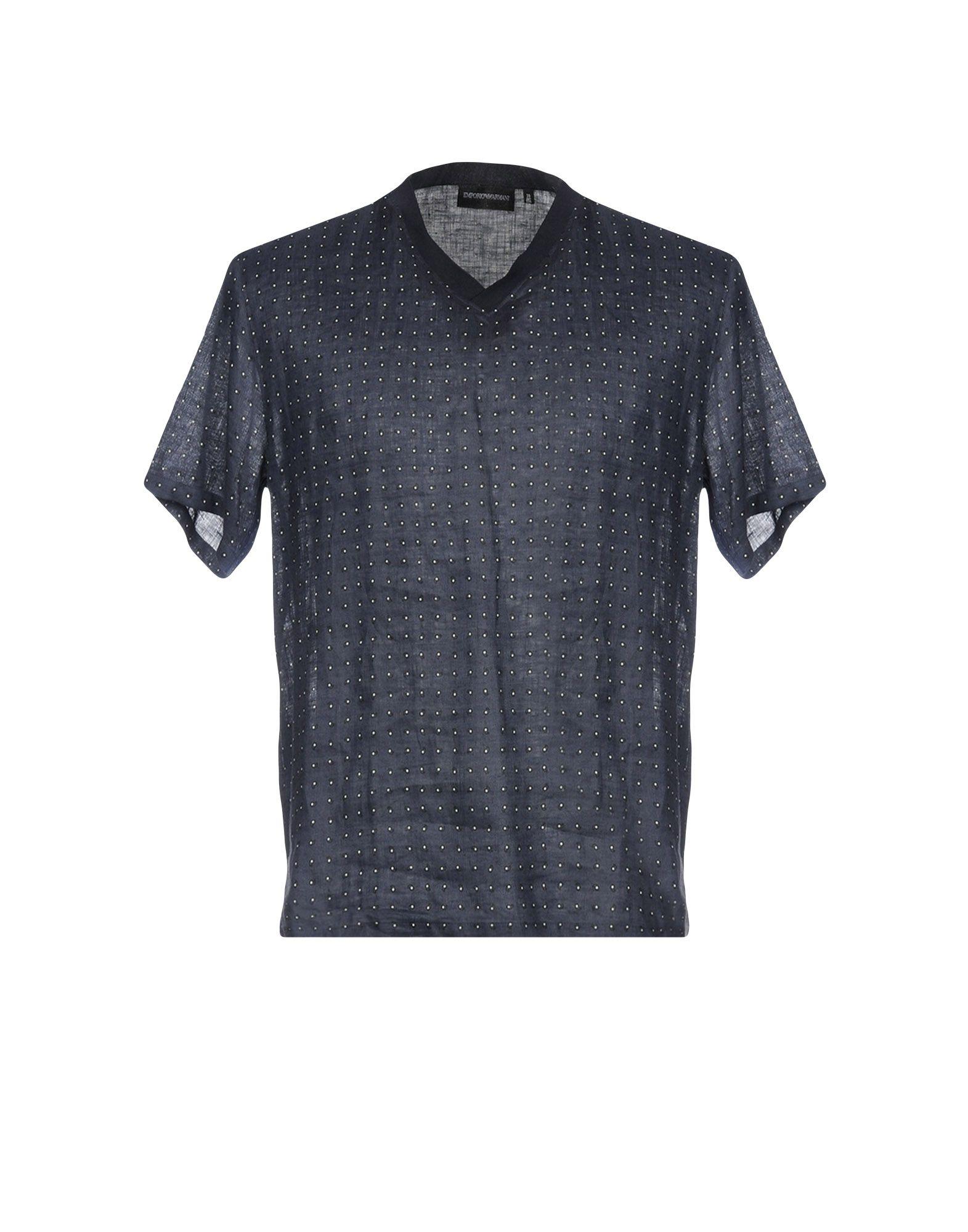 Camicia Fantasia Emporio Armani Uomo - Acquista online su