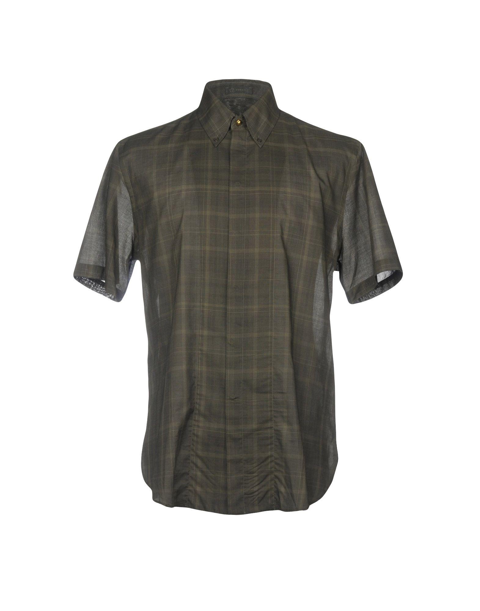 Camicia A Quadri Versace Uomo - Acquista online su