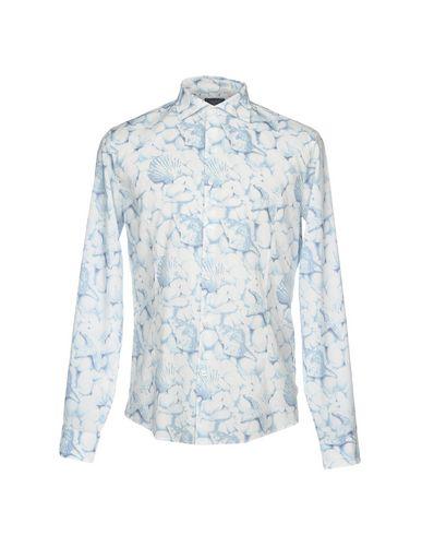 salg 100% Armani Skjorte Trykt Denim salg butikken utrolig pris online clearance rekke 100% autentisk lfYz1v