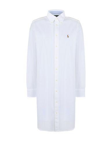 POLO RALPH LAUREN Knit Oxford Shirtdress Minivestido