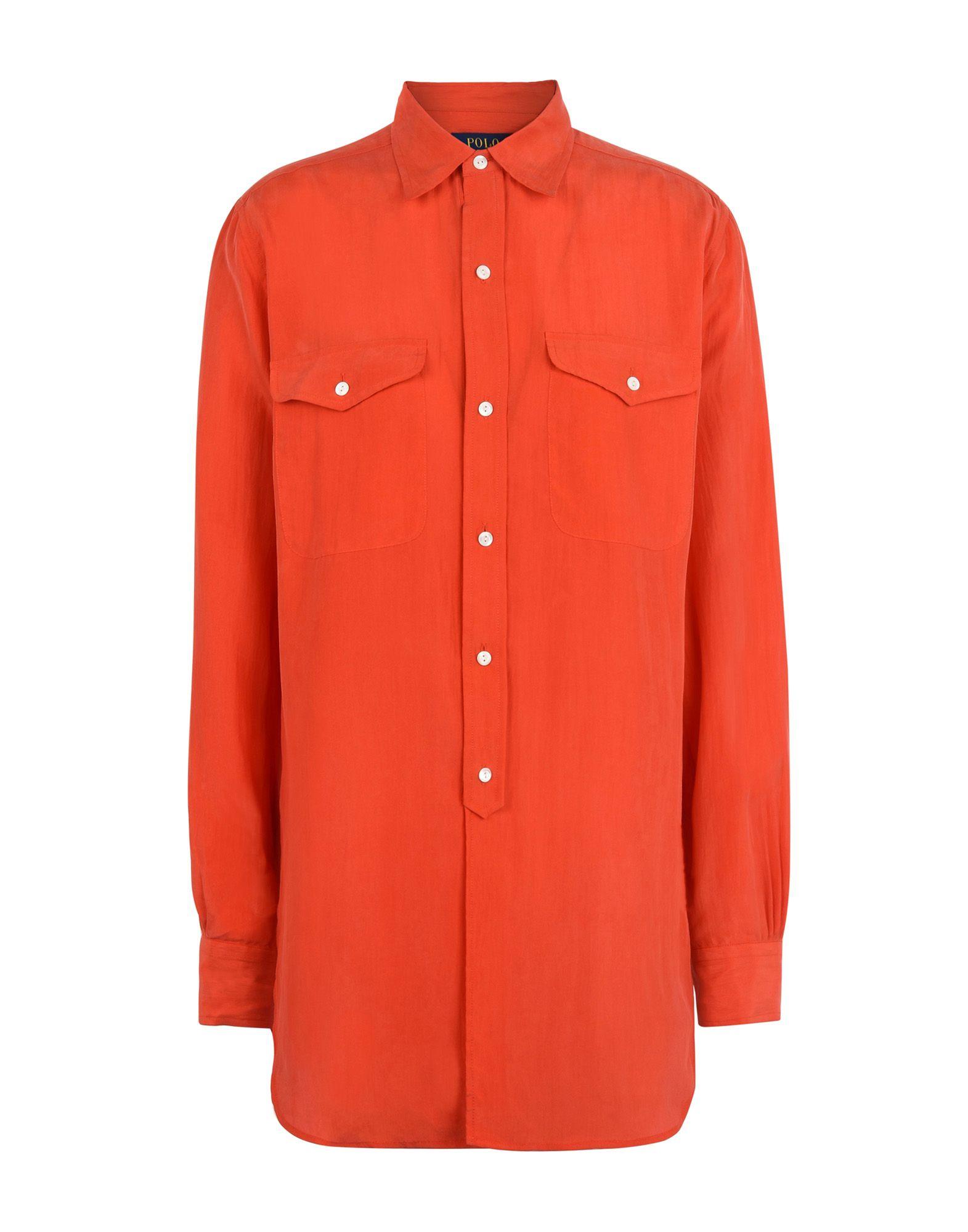 Camicie E Bluse In Seta Polo Ralph Lauren Silk Shirt - Donna - Acquista online su QHuj0zK