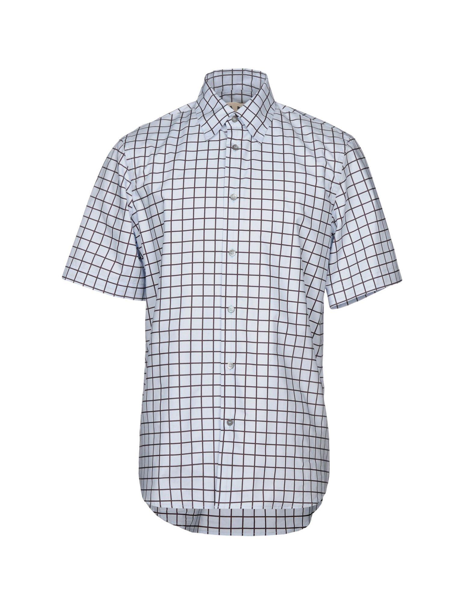 Camicia A Quadri Marni Uomo - Acquista online su