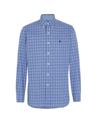 Core Poplin Homme Fit Polo Ralph Chemise À Carreaux Lauren Shirt BxXBz0qn