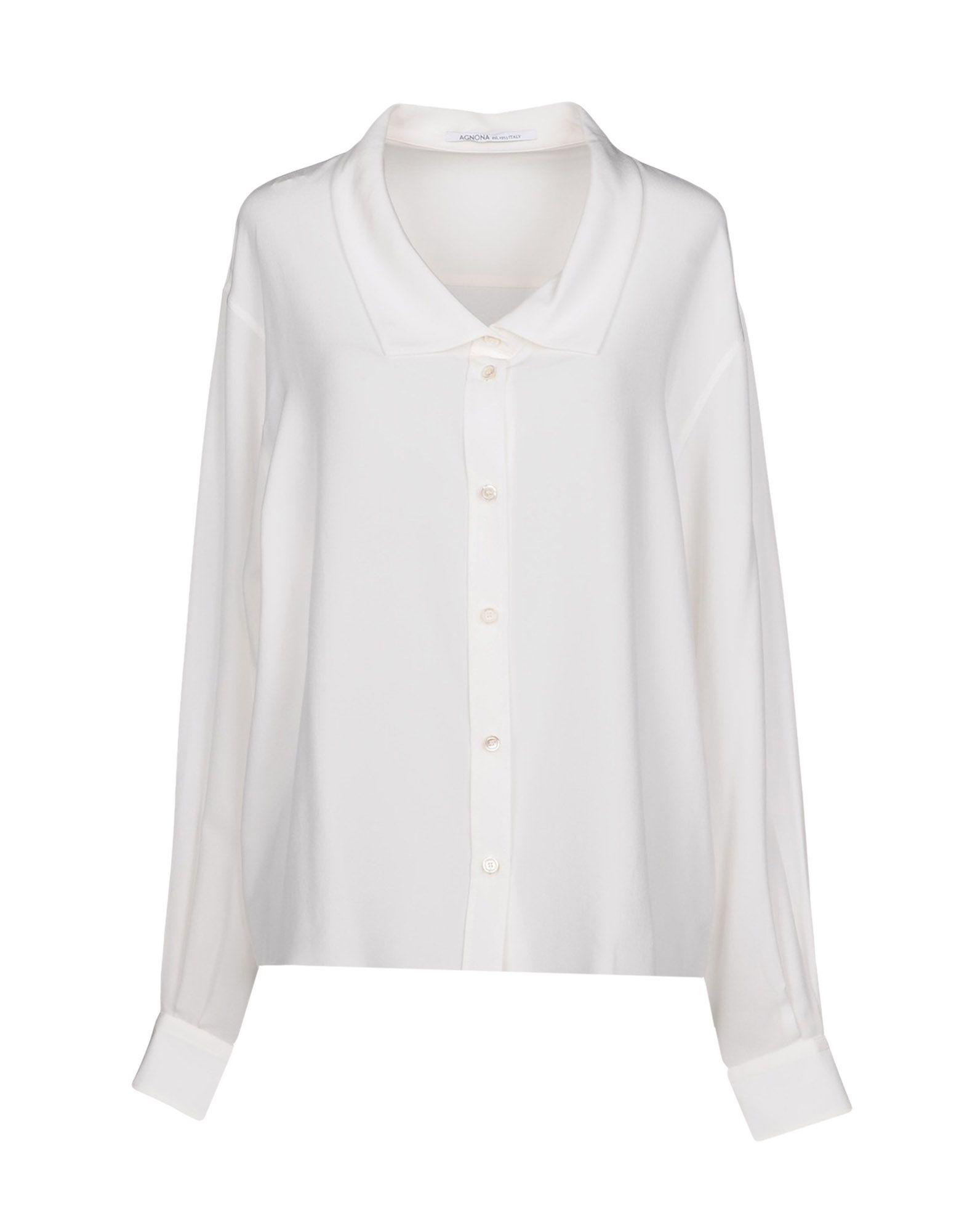 Camicie E E E bluse In Seta Agnona donna - 38724039DR 900
