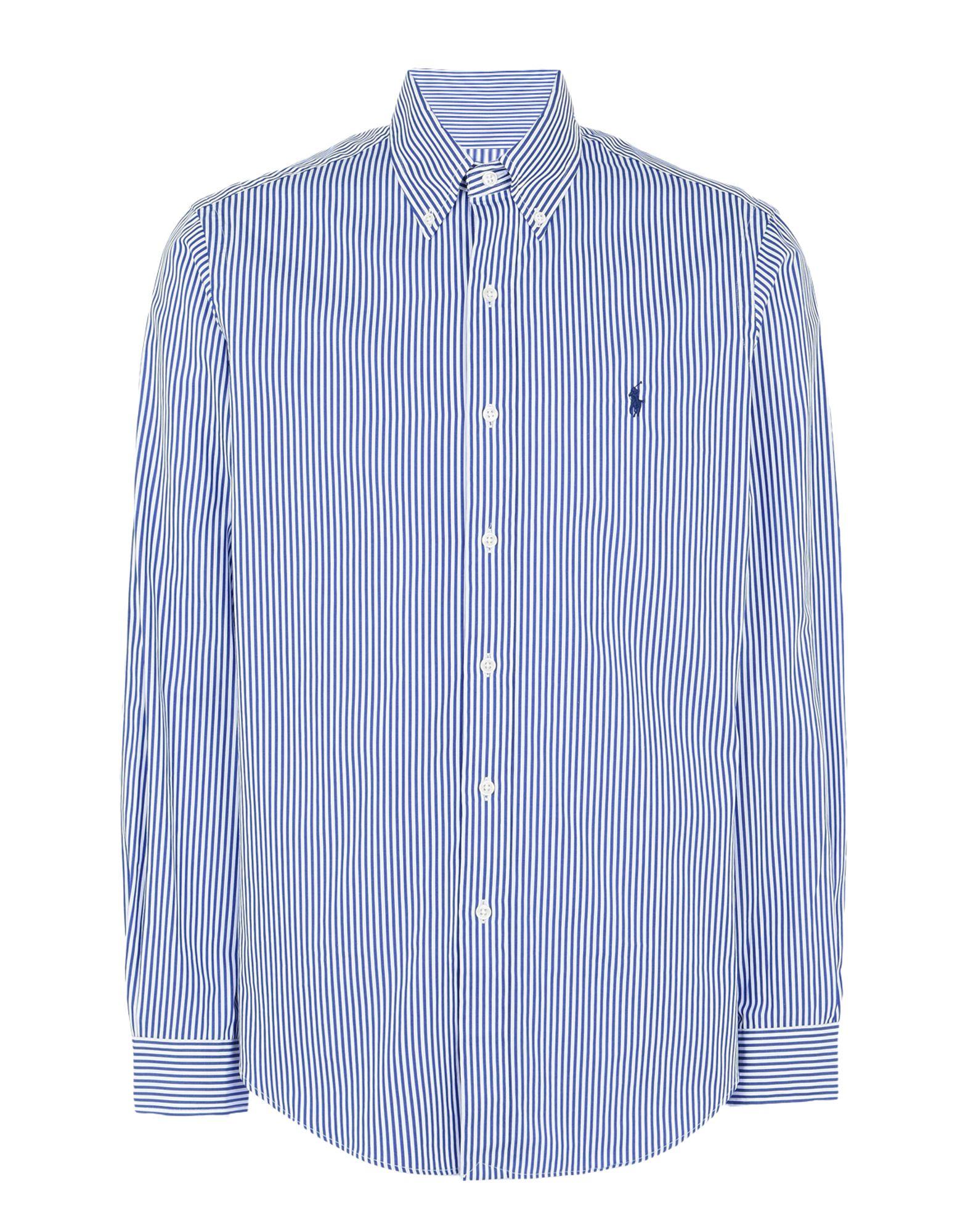 Camicia A Righe Ralph Lauren Core Fit Poplin Shirt - Uomo - Acquista online su