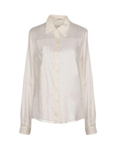 Aaa Qualität MIU MIU Hemden und Blusen einfarbig Verkauf Erstaunlicher Preis Classic Günstig Online 3x35tVKkM