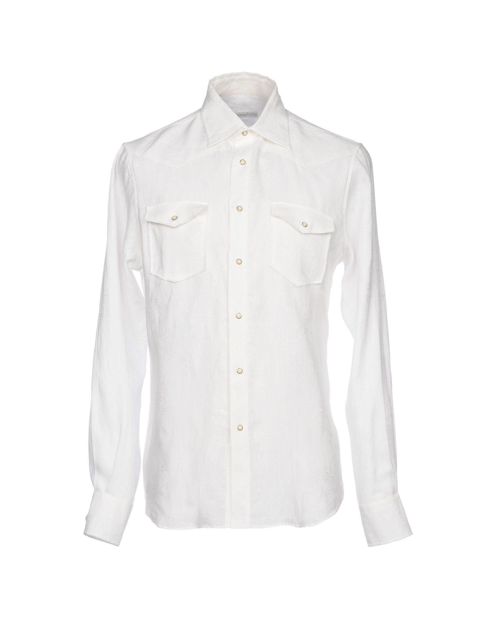 Camicia In Lino Ermanno Scervino Uomo - Acquista online su
