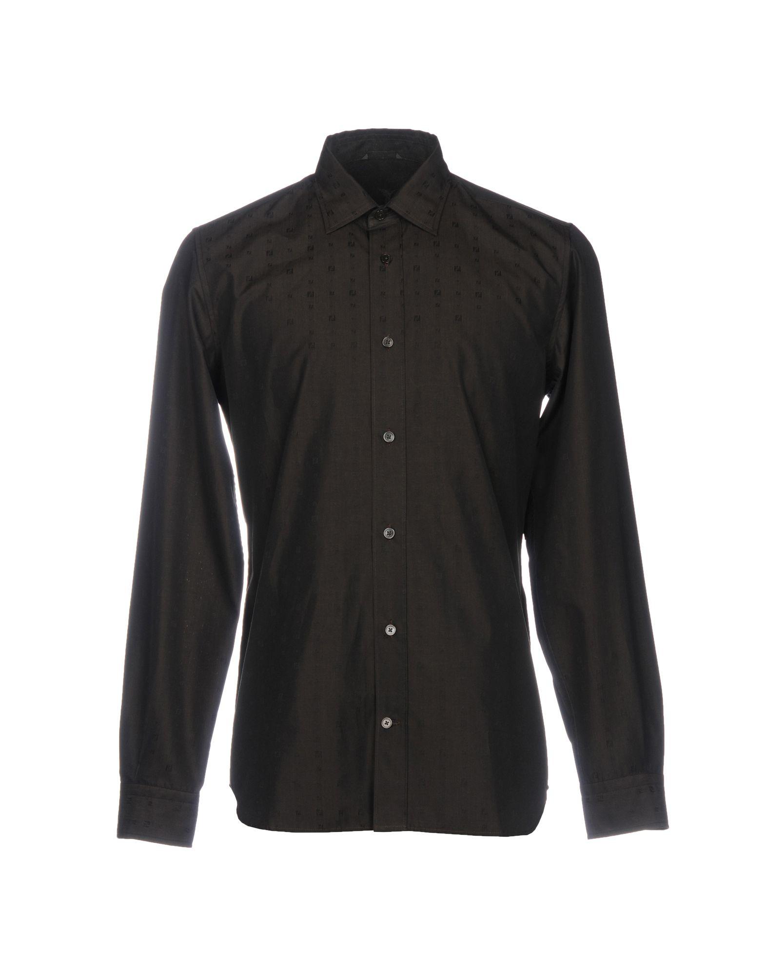 Camicia Tinta Unita Fendi Uomo - Acquista online su
