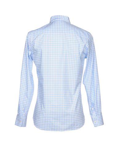 Paul & Shark Rutete Skjorte nettbutikk rabatt komfortabel klaring footaction billig salg besøk ka7Zt8h