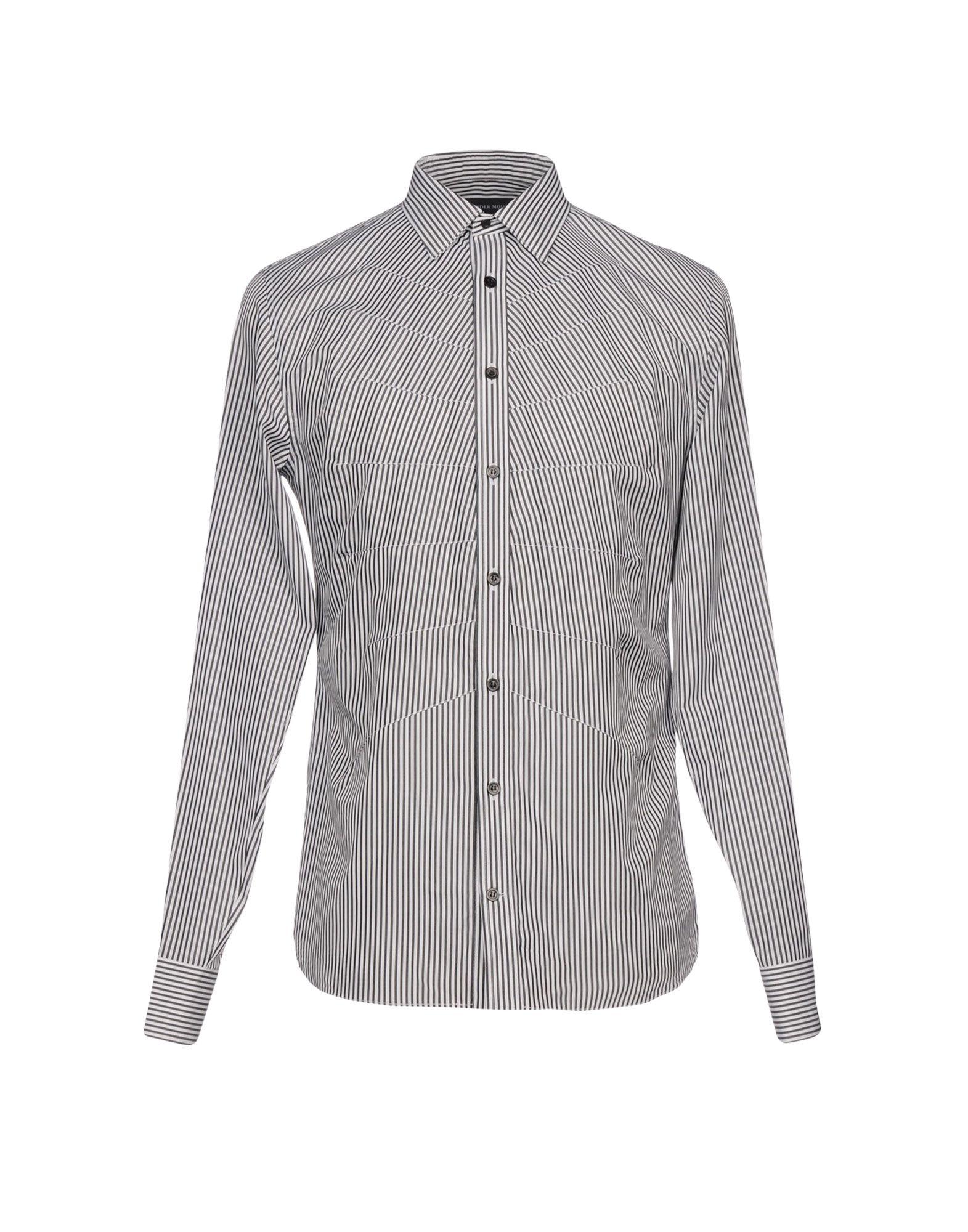 Camicia A Righe Alexander Mcqueen Uomo - Acquista online su