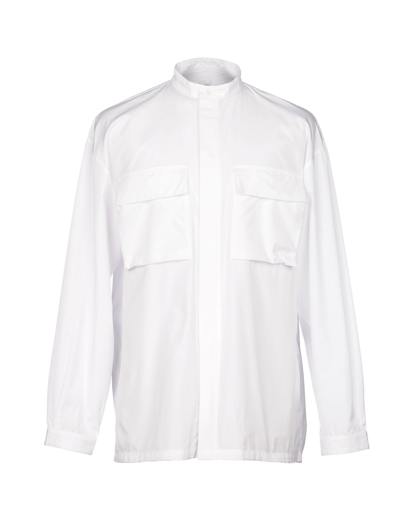 Camicia Tinta Unita E. Tautz Uomo - Acquista online su
