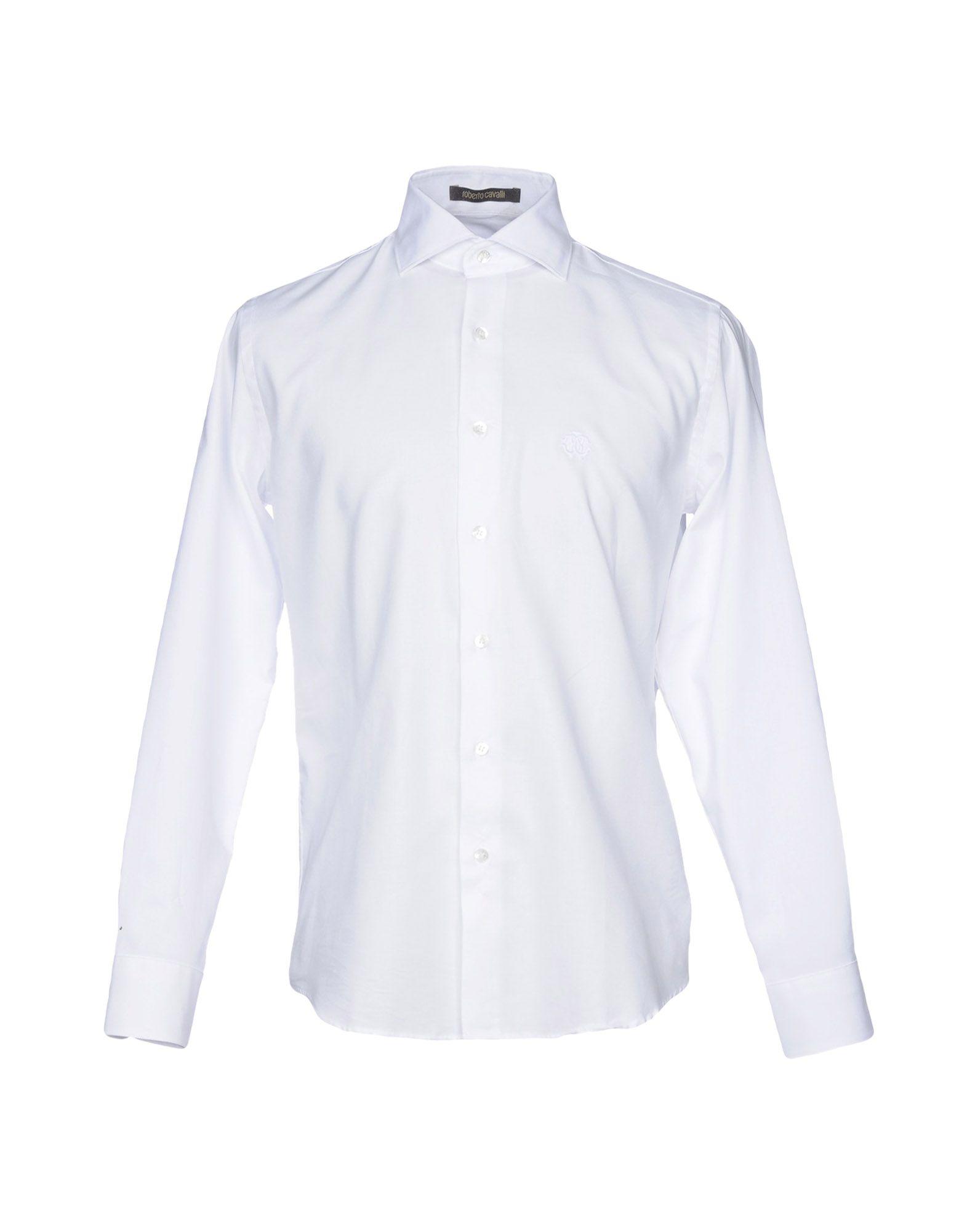 Camicia Tinta Unita Roberto Cavalli herren - 38727271PF