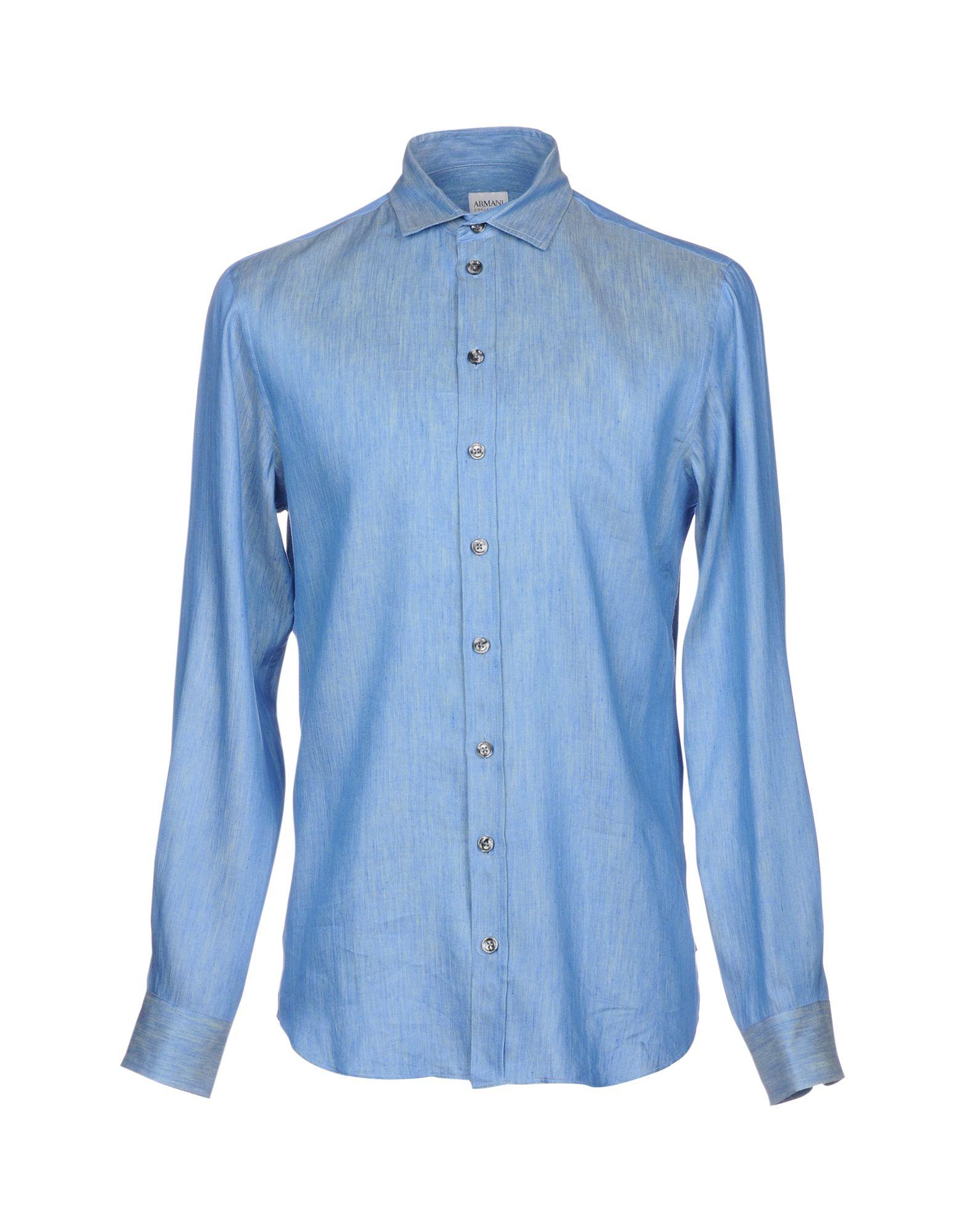 Camicia In Lino Armani Collezioni Uomo - Acquista online su
