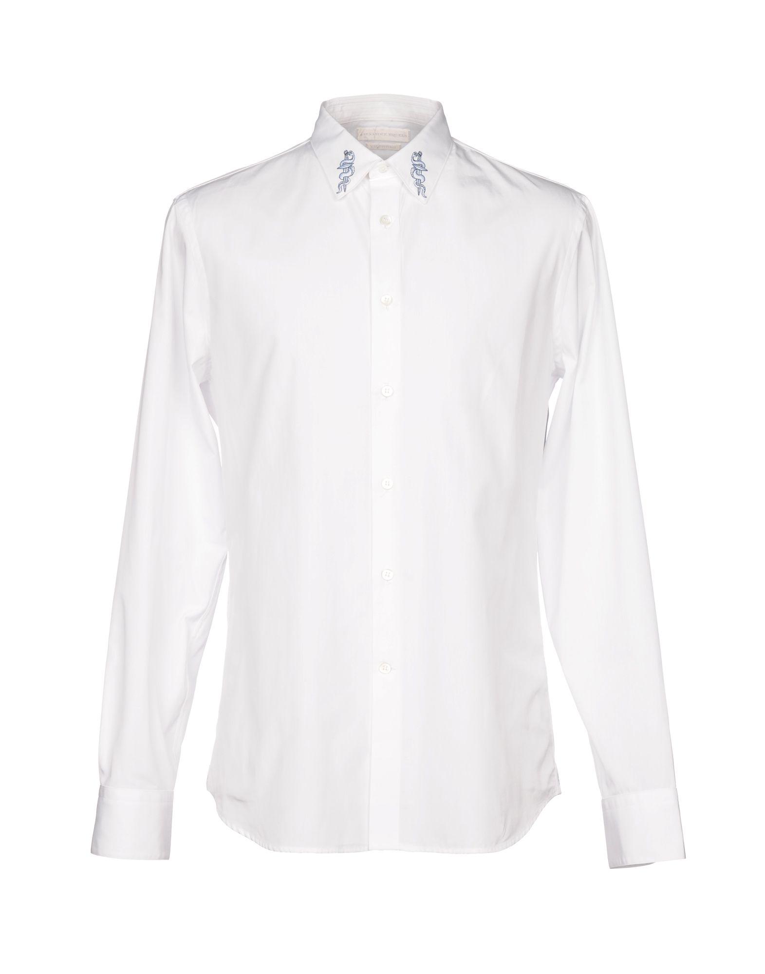 Camicia Tinta Unita Alexander Mcqueen Uomo - Acquista online su