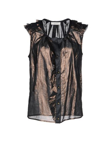 VICOLO Camisas y blusas lisas