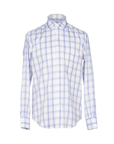 outlet new billig salg Manchester Loro Piana Rutete Skjorte 0NS4oW8nY