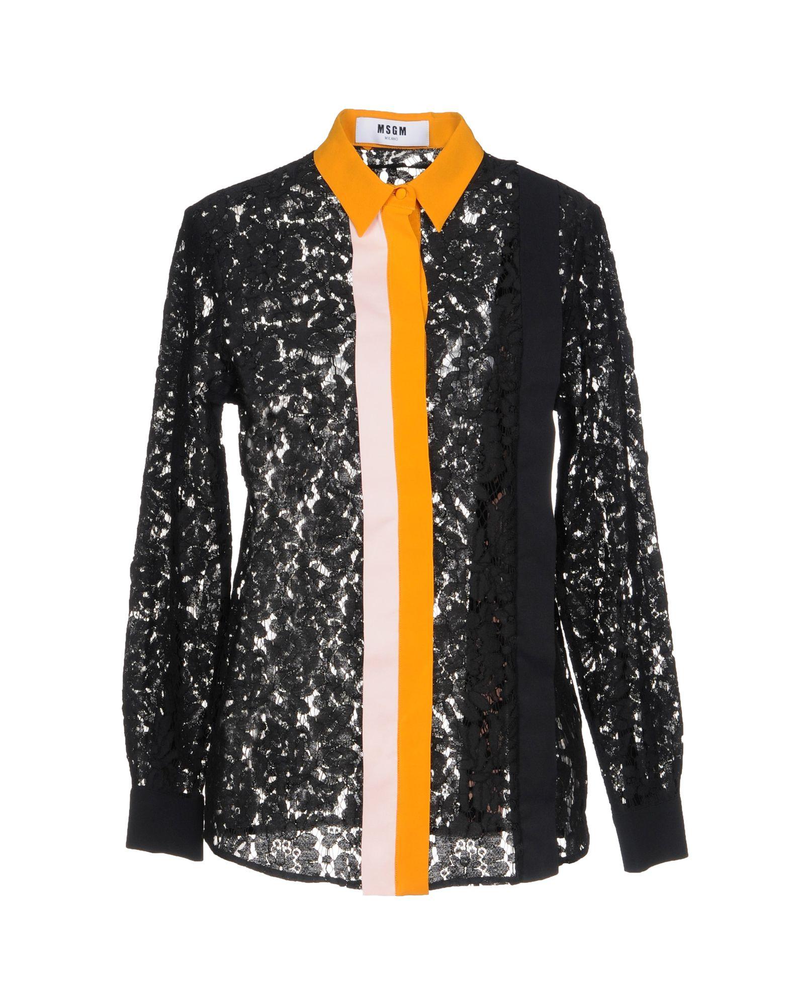 Camicie E Bluse In Pizzo Msgm Donna - Acquista online su RCkgH2Nwr