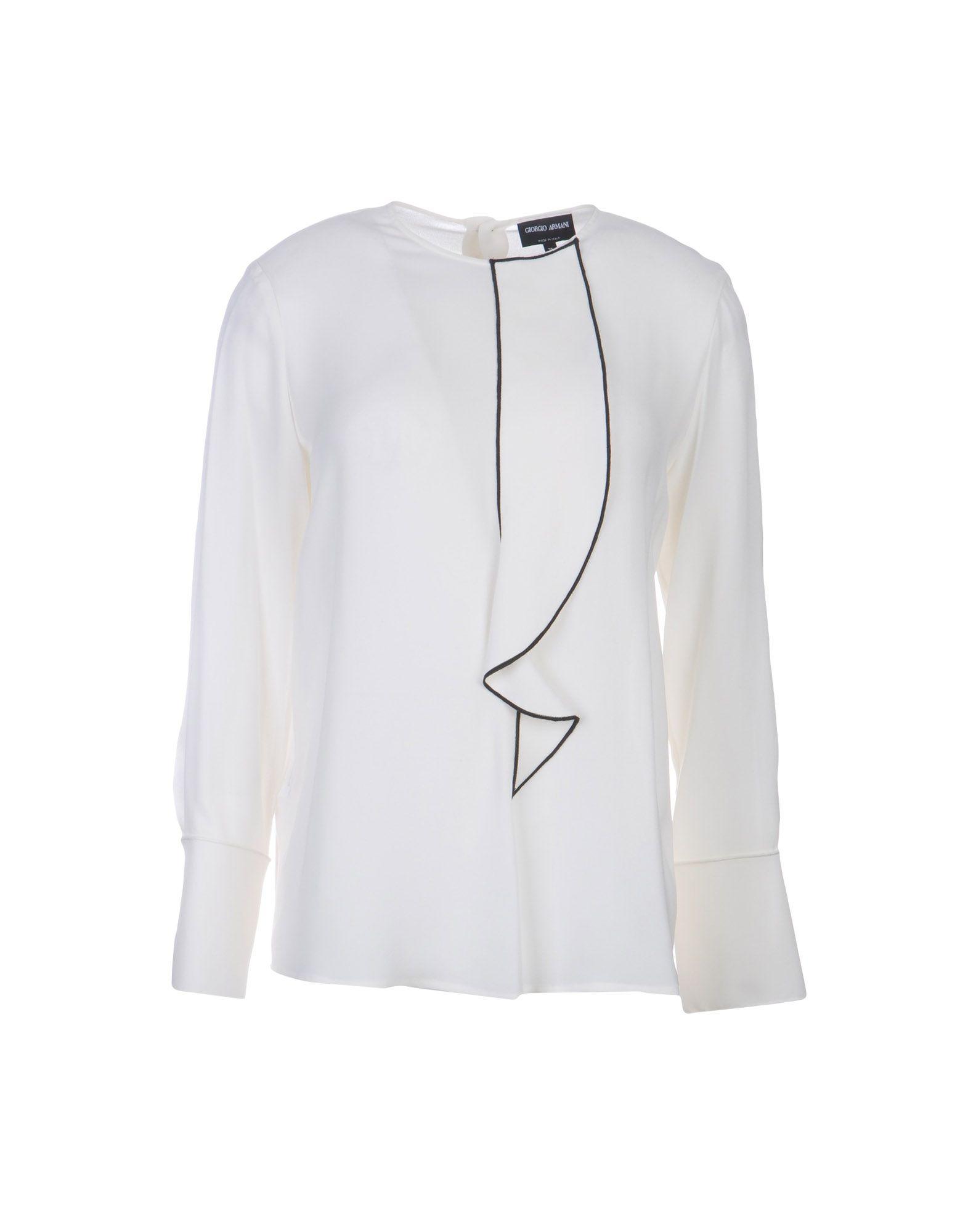 Camicie E Bluse In Seta Giorgio Armani Donna - Acquista online su WS8Vg