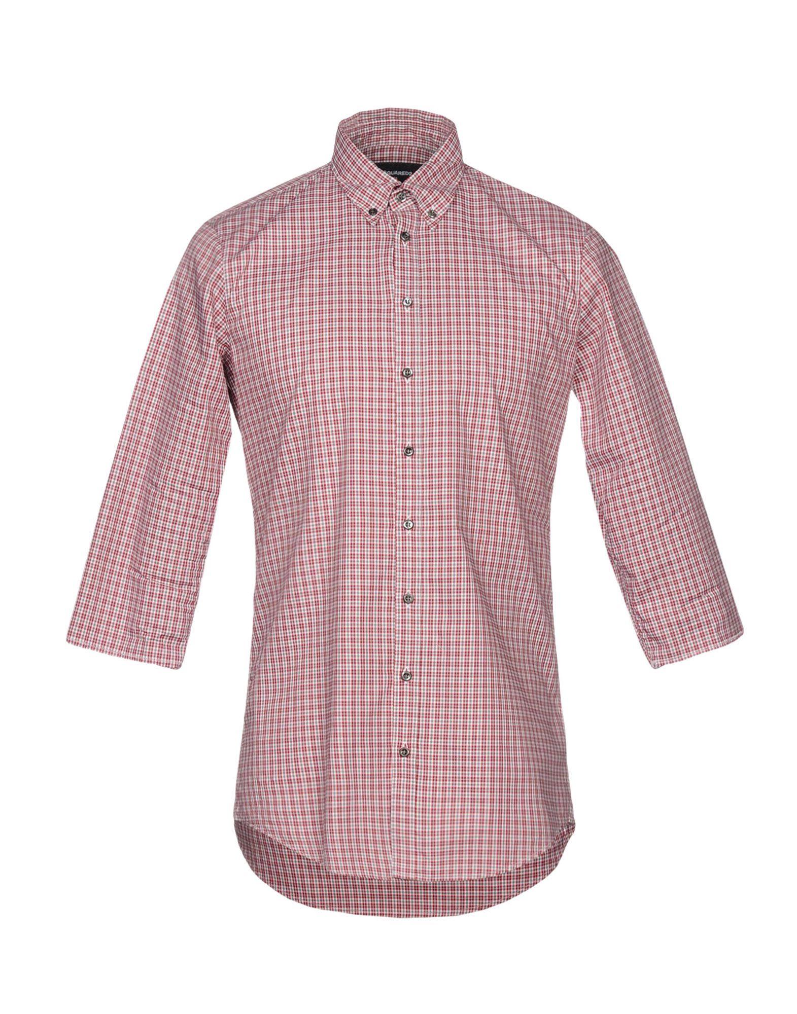 Camicia A Quadri Dsquared2 Uomo - Acquista online su