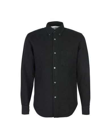 OUR LEGACY Our Legacy 1950s Shirt Black H.A. Oxford Einfarbiges Hemd