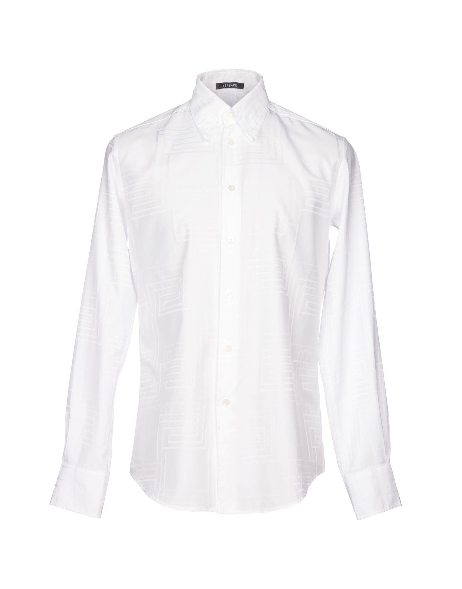Camicia Tinta Unita Versace Uomo - Acquista online su