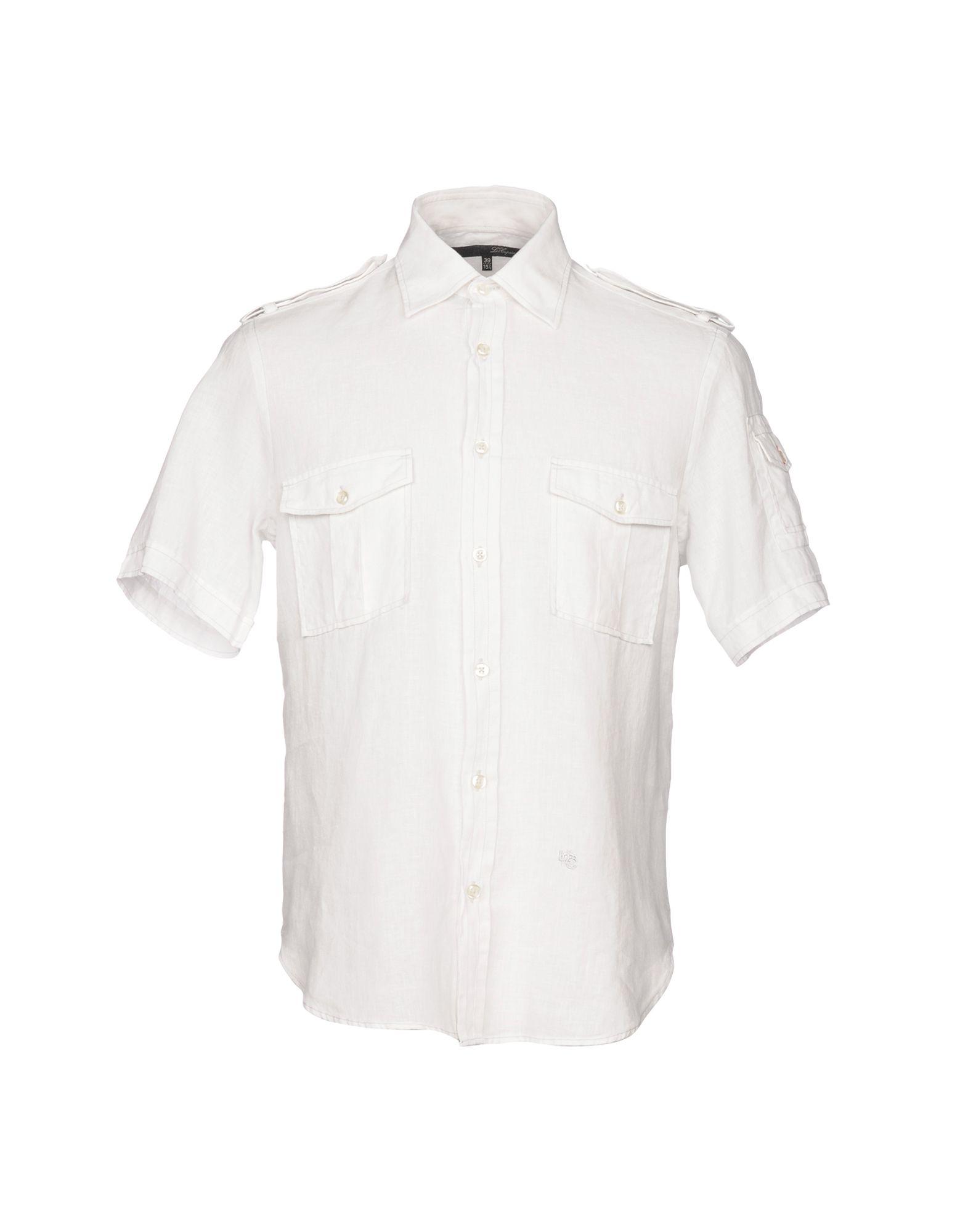 Camicia In Lino Les Copains Uomo - Acquista online su