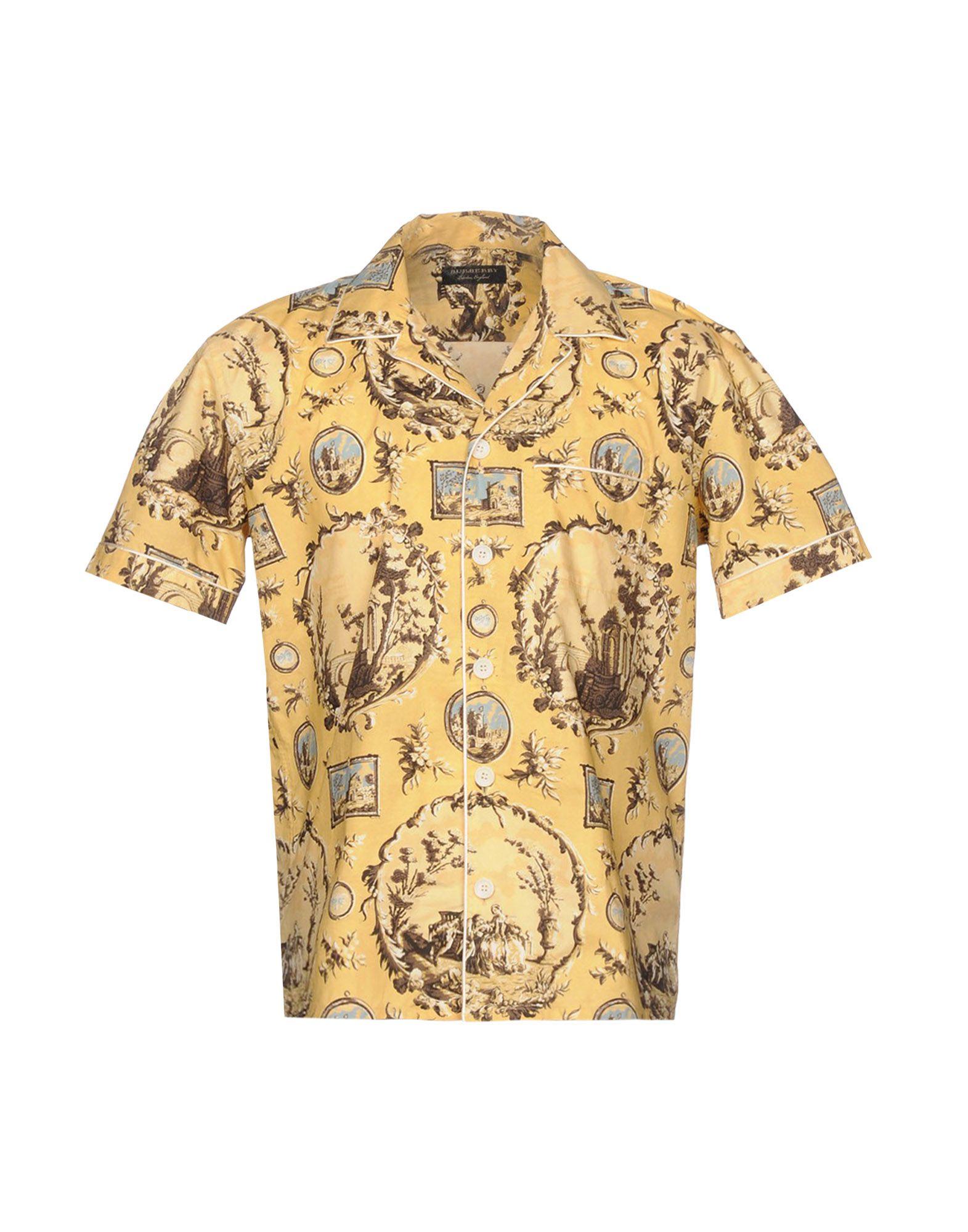 Camicia Fantasia Burberry Uomo - Acquista online su