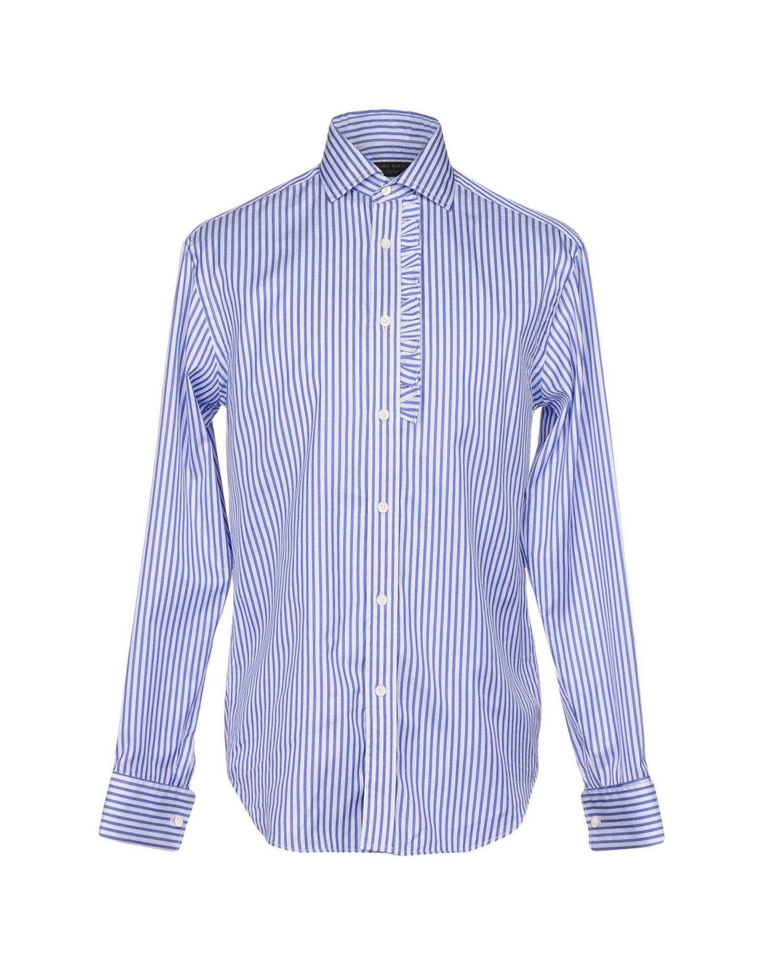 Camicia A Righe Burberry Uomo - Acquista online su