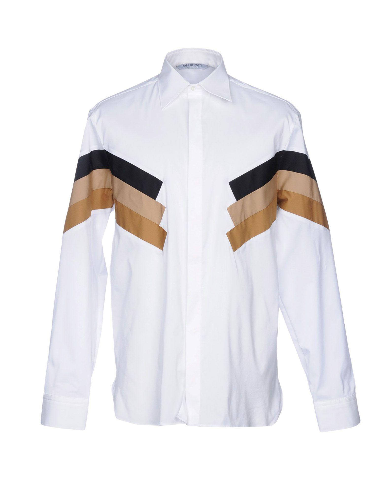 Camicia Tinta Unita Neil Barrett Uomo - Acquista online su