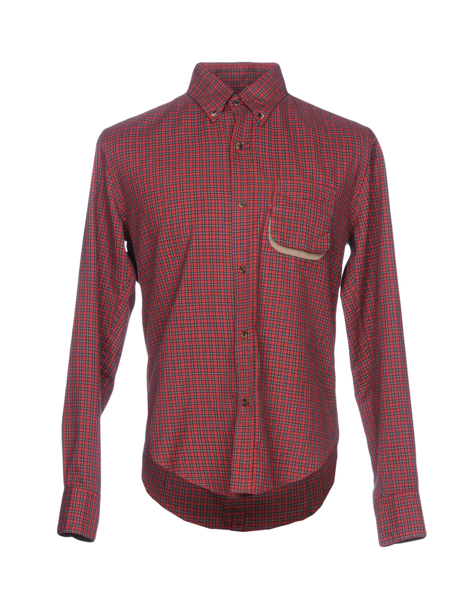 Camicia A Quadri Band Of Outsiders Uomo - Acquista online su