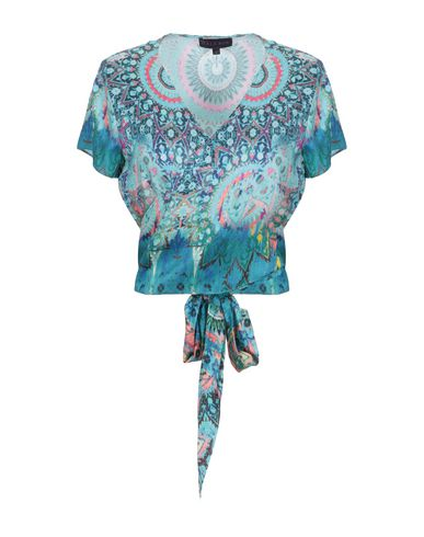 HALE BOB Patterned Shirts & Blouses in Azure