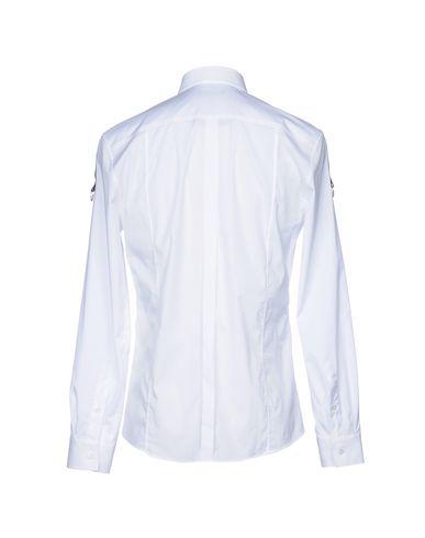 Menn Camisa Lisa grense rabatt billige priser billig salg populær 83LZNkV