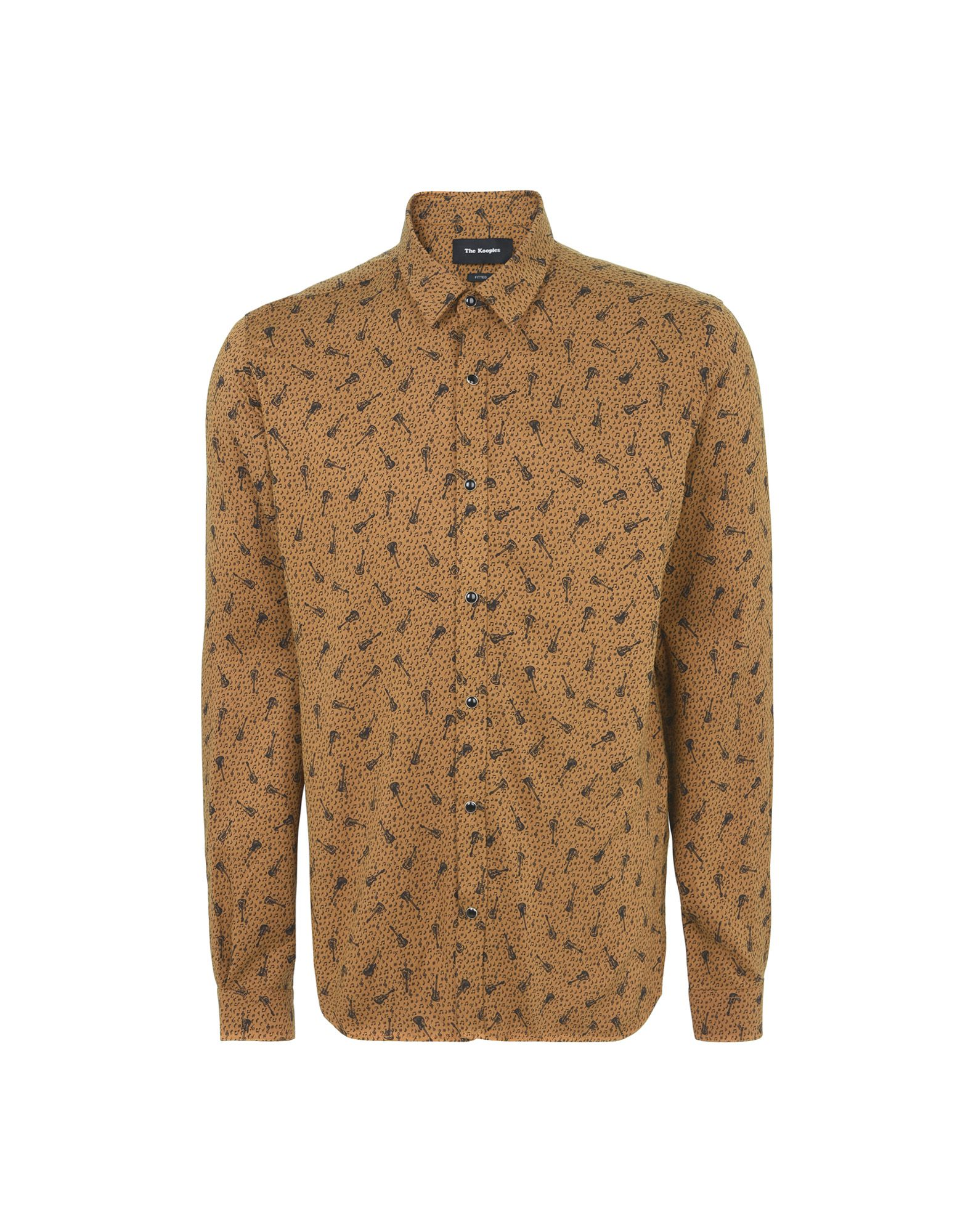 Camicia Fantasia The Kooples Printed Shirt With A Classic Collar - Uomo - Acquista online su