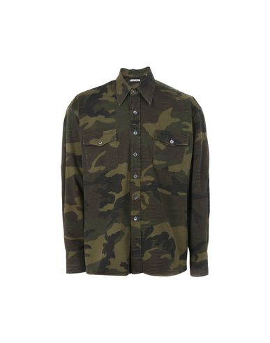 25b6472e Our Legacy Our Legacy Over Shirt Camo - Patterned Shirt - Men Our ...