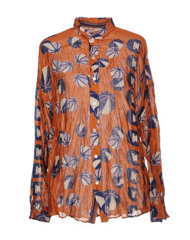KUSA KANMURI Camisas y blusas de seda