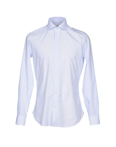 TRUZZI Solid Color Shirt in Sky Blue